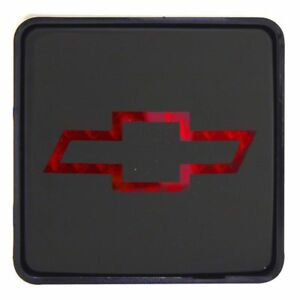 Bully Rear 2 Trailer Towing Hitch Receiver Cover Logo Brake Light For Chevy