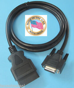 New Otc Matco Interceptor Replacement Obd2 Obdii Main Cable Connector Plug 6ft