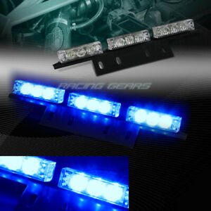 18 Led Car Truck Emergency Hazard Warning Flash Strobe Light Universal 9