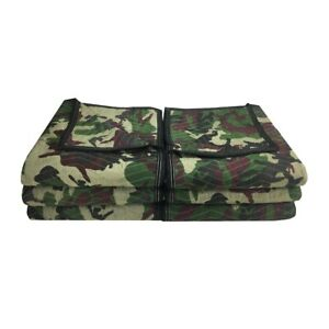 Camo Moving Blankets 6 Pack 72 X 80 Deluxe Camouflage