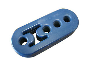 Universal Polyurethane Adjustable Muffler Exhaust Hanger Blue