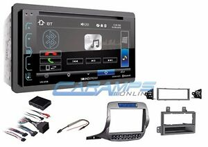 New 6 2 Soundstream Bluetooth Double Din Stereo Radio W Install Kit For Camaro