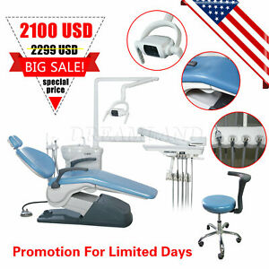 Dental Chair Unit Computer Controlled Hard Leather Fda Tj2688 A1