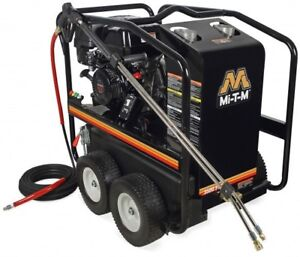 Mi t m Hsp Series Hot Water Pressure Washer 3500psi 3 3gpm Hsp 3504 3mgk