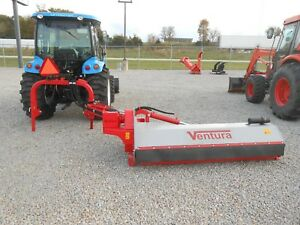 Flail Ditch Bank Mower Shredder Mulcher Ventura Side Trim 181e 71 50 80hp