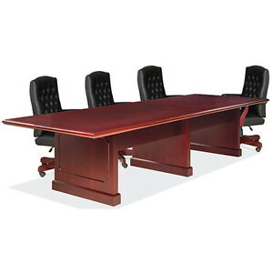 6 12 Ft Traditional Conference Room Table And Chairs Set Boardroom With Office