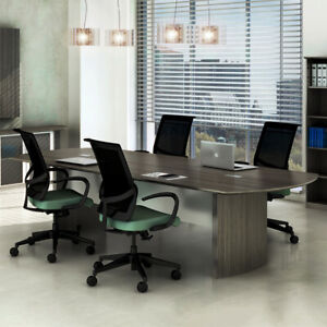 8ft 14ft Modern Conference Table Meeting Room Boardroom Office Furniture New