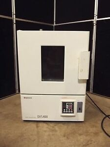 Yamato Dvs400 Gravity Convection Drying Oven Powers Up Heats Up S2237