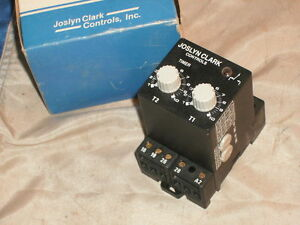 Joslyn Clark Dfr 2bb Delay on Delay off Timer Dfr2bb 110vac