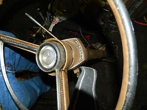 1966 66 Plymouth Valiant Horn Ring Button
