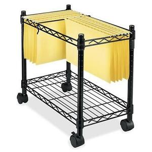 Fellowes 45081 High capacity Rolling File Cart 4 Caster Metal Steel 24 X