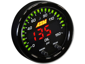 Aem X Series 150 Psi 10 Bar Oil Pressure Gauge 30 0307