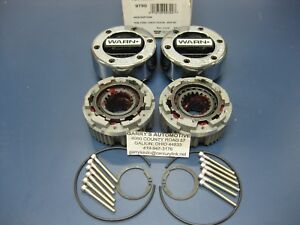 Warn 9790 4wd Locking Hubs Set Dana Gm Ford 44 Spicer 1 2 3 4 Ton 19 Spline Axle