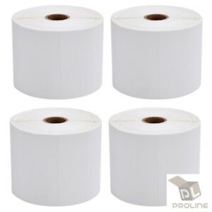 20 Rolls 4x6 10000 Direct Thermal Labels For Zebra 2844 Zp450 Zp500 Zp505 Eltron