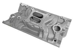Summit Racing Stage 1 Aluminum Intake Manifold Chevy Sbc 350 383 W Vortec Heads
