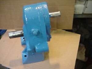 Dover Blackmer Pump Helical Speed Reducer Hrof Hr0f 3 32 1 Ratio 5 6 Hp