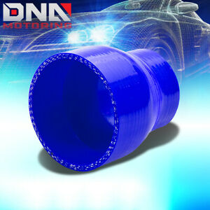 2 5 3 Reducer 3 ply Turbo intercooler Piping Silicone Coupler Hose pipe Blue