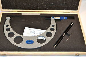 New Moore Wright Mw210 041 Micrometer 7 8 0 0001 Carbide Standard Wl52 1