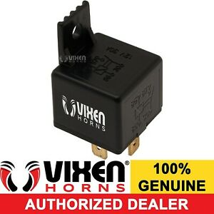 4 Pin 30a Air Musical Horn Relay For Any 12 Volt 12v Vehicle Vxa7446