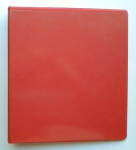 Orange 3 Ring 1 5 View Binder 8 5 X 11 Box Of 12