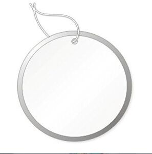 Round Tags With Metal Rims 1 7 8 Inch White Box Of 500 No String