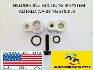 A C Block Off Kit For Rear Air For 2000 2013 Cadillac Escalade
