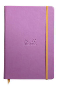 Rhodia Rhodiarama Webbies Notebook Lilac Blank 5 5 X 8 25 R118731 New