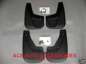 2007 2014 Gmc Yukon Denali Custom Molded Mud Flaps Splash Guards 4 Pc