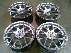 Porsche Ruger Mesh Silver 20 Wheels Rims 911 987 997 991 Cayman Carrera Turbo