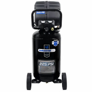Industrial Air Vx 1 7 Hp 15 Gal Oil free Vertical Air Compressor C151i New