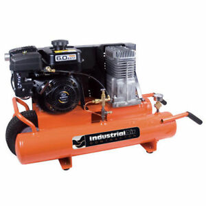 Industrial Air 6 Hp 8 Gallon Twin Tank Air Compressor Ct5590816 02 New