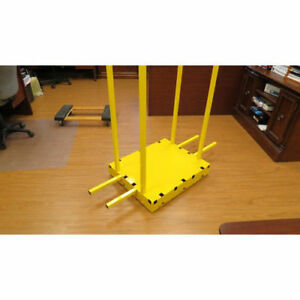Saw Trax Sd 1 000 Lb Capacity Yel low Safety Dolly With Cart Body New
