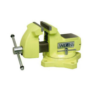 Wilton Wmh63187 1550 High visibility Safety Vise 5 In Jaw Width New