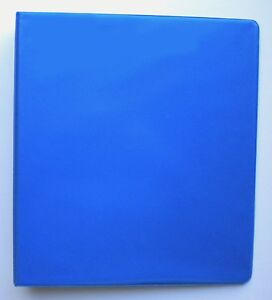 Royal Blue 3 Ring 2 View Binder 8 5 X 11 Box Of 12