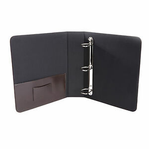 royce Executive 2 2 Inch D Ring Binder In Leather Ryl300 cn ar