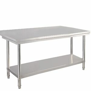 30 x 48 Stainless Steel Commercial Kitchen Work Food Prep Table 48 x30 x 31 5