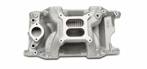 Edelbrock Performer Rpm Air gap Intake Manifold 7576 Dodge Sb Fits Stock Heads
