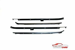 1980 90 Chevrolet Caprice Impala Sedan 4 Door Front Belt Weatherstrip Kit