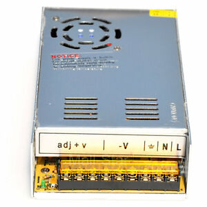 Ac110v 240v Input 36v 10a Output 360w Switching Power Supply For Led Strip Light