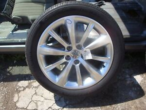 2009 12 Lincoln Mks 19 Wheels Michelin Tires Set Of 4 Factory Taurus Flex