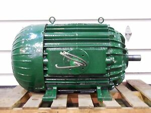 Rx 1706 New Elliot 60hp Electric Motor 3ph 480v 1780rpm 445u Frame