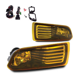 For 2005 2010 Scion Tc Winjet Oe Factory Fit Fog Light Bumper Kit Yellow Lens