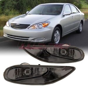 2002 2004 Toyota Camry Oe Factory Fit Fog Light Smoke Lens With Wiring Kit
