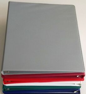 Assorted Colors Of Vinyl 3 ring Binders 1 2 inch For 8 5 X 11 Sheets Pack 6