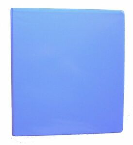 Blueberry 3 Ring 1 View Binder 8 5 X 11 Pack Of 6