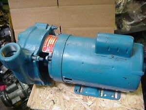 New Crane Burks Centrifugal Pump Boiler 104ga6 1 1 2 Single Phase 1hp 115 230v