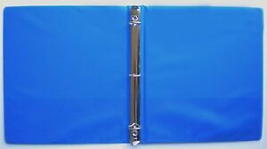 Royal Blue 3 Ring 1 View Binder 8 5 X 11 Pack Of 6