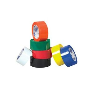 tape Logic Carton Sealing Tape 2 X 110 Yds Black 36 case