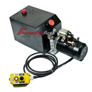 New Dump Trailer Power Unit 12v Single Acting