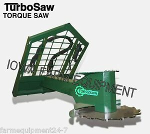 Skid Steer Turbo Saw Tq3000 Tree Saw tree Cutter high Torque 15 23gpm fixed Head